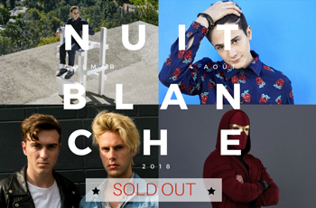 LA NUIT BLANCHE : SOLD OUT